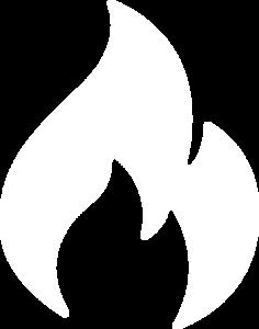 Feuer weiß