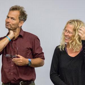 Porträt Tim Boykett und Tina Auer
